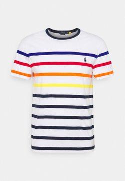 Polo Ralph Lauren - SHORT SLEEVE - T-Shirt print - white multi