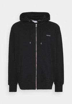 Calvin Klein - veste en sweat zippée - black