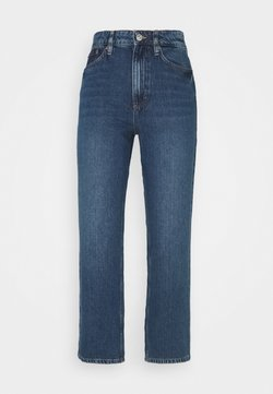 TOM TAILOR - KATE STRAIGHT - Jeans a sigaretta - clean mid stone/blue denim