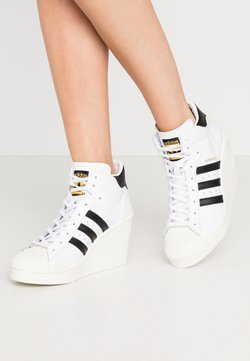 adidas Originals - SUPERSTAR ELLURE - Sneaker high - footwear white/core black/offwhite