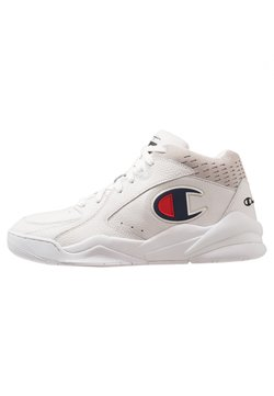 Champion - MID CUT SHOE ZONE MID - Zapatillas de baloncesto - white