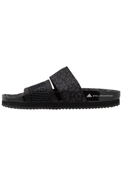 adidas by Stella McCartney - STELLA-LETTE - Badslippers - core black/utility black/footwear white