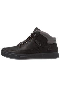 Timberland - DAVIS SQUARE HIKER - Sneakersy wysokie - black