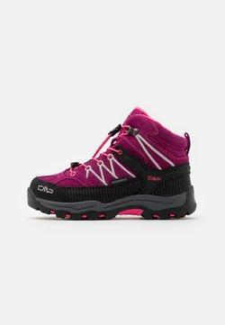 CMP - KIDS RIGEL MID SHOE WP UNISEX - Obuwie hikingowe - berry/pink fluo