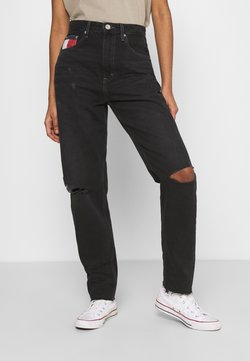 Tommy Jeans - MOM ULTRA  - Relaxed fit jeans - black denim