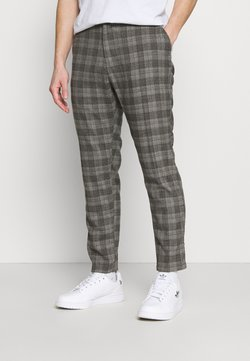 Cotton On - OXFORD - Stoffhose - charcoal check