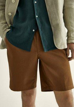 Massimo Dutti - Shorts - ochre