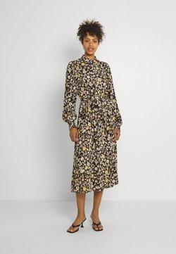 b.young - BYFIONNA DRESS  - Sukienka letnia - ochre mix