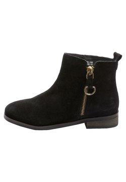 Next - ZIP CHELSEA BOOTS - Stiefelette - black