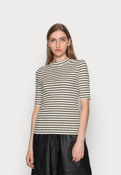 Selected Femme - ANNA CREW NECK TEE  - T-Shirt print - kalamata