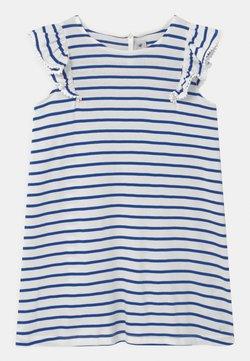 Petit Bateau - MELODY - Jerseykleid - dark blue/white