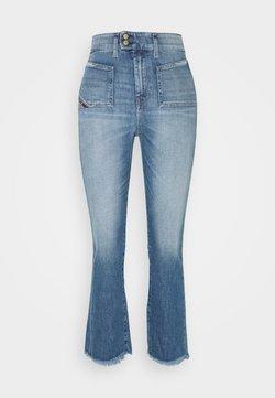 Diesel - D-EARLIE-H - Jeans Bootcut - indigo