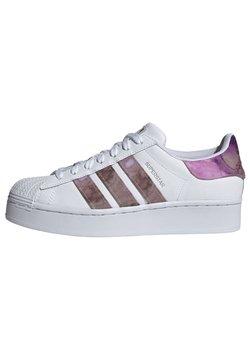 adidas Originals - SUPERSTAR BOLD W - Trainers - white