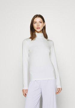 Nike Sportswear - MOCK - Pitkähihainen paita - platinum tint