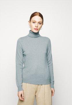 Repeat - Stickad tröja - dusty blue