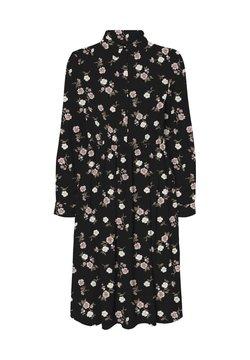 Vero Moda - TALLIE  - Blusenkleid - black