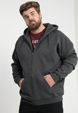Urban Classics - ZIP HOODY - veste en sweat zippée - charcoal