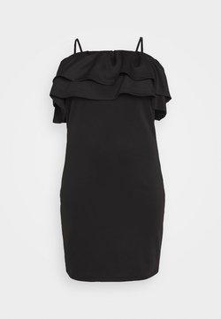 Vero Moda Curve - VMPEACOCK SS CURVE - Vestido informal - black