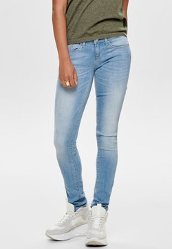 ONLY - Jeans Skinny Fit - light blue denim