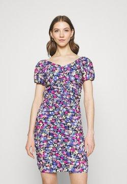 Gina Tricot - ELINA ROUCHED DRESS - Etuikleid - multi-coloured