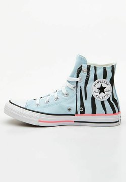 Converse - CHUCK TAYLOR ALL STAR SUN BLOCKED - Sneakersy wysokie - blue