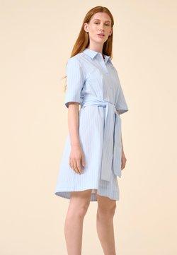ORSAY - MIT STREIFEN - Blusenkleid - samtblau