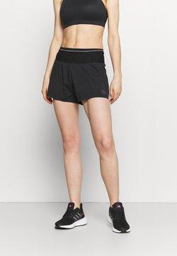 Dynafit - DNA SPLIT SHORTS - Pantalón corto de deporte - black out