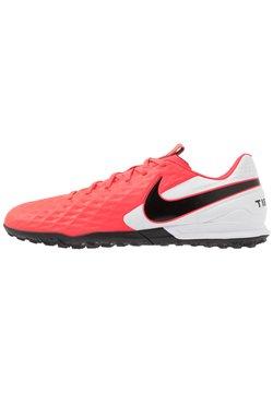 Nike Performance - TIEMPO LEGEND 8 ACADEMY TF - Korki Turfy - laser crimson/black/white