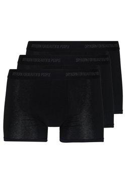 DRYKORN - CORBIN 3 PACK - Shorty - schwarz