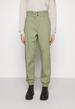 ONLY - ONLCECE PANT - Trousers - oil green