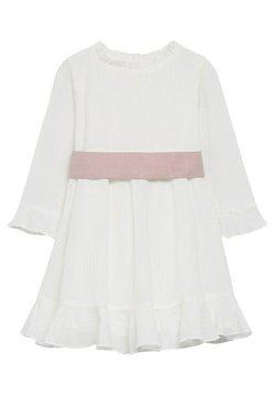 Mango - REBECA - Korte jurk - cremeweiß