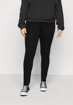 Even&Odd Curvy - Leggings - Hosen - black