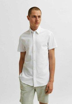 Selected Homme - SLHREGNATE SEERSUCKER - Skjorta - bright white