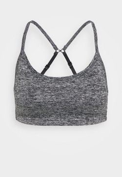 Cotton On Body - WORKOUT YOGA CROP - Sport BH - salt/pepper