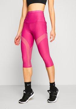 Guess - LEGGINGS - Pantalon 3/4 de sport - purple blush