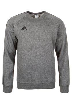 adidas Performance - CORE ELEVEN FOOTBALL LONG SLEEVE PULLOVER - Bluza - dark grey