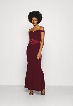 WAL G. - SELENE BAND MAXI - Occasion wear - wine
