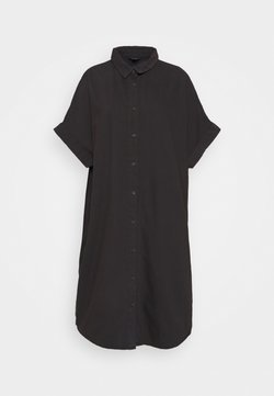 Monki - MOLLY DRESS - Dongerikjole - black