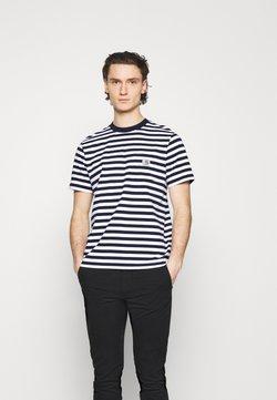 Carhartt WIP - SCOTTY POCKET - T-Shirt print - dark navy/white
