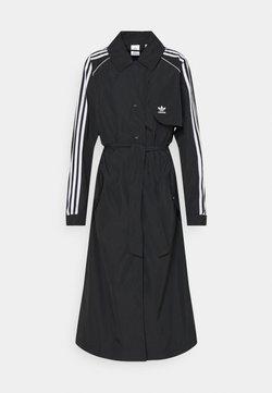 adidas Originals - TRENCH ORIGINALS ADICOLOR PRIMEGREEN COAT - Trench - black