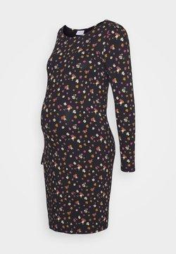 MAMALICIOUS - MLALBANE DRESS - Robe en jersey - black