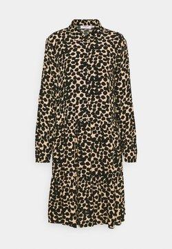 Moss Copenhagen - BAHIRA JALINA SHORT DRESS - Blusenkleid - semolina