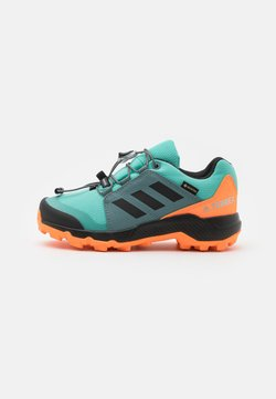adidas Performance - TERREX GTX UNISEX - Vaelluskengät - acid mint/core black/screaming orange