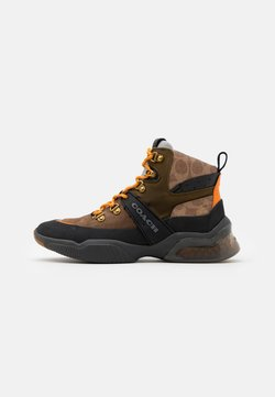 Coach - CITYSOLE SIGNATURE HIKER - Sneaker high - khaki/olive