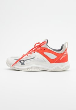 Mizuno - GHOST SHADOW - Käsipallokengät - white/shade/hot coral