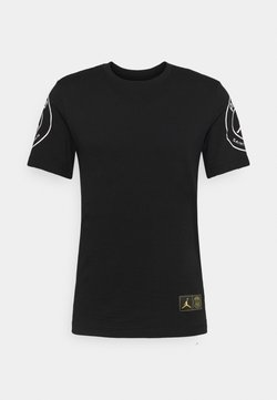 Nike Performance - PARIS ST GERMAIN LOGO TEE - Vereinsmannschaften - black