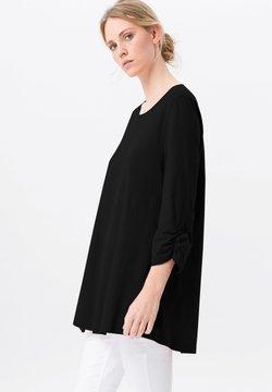 Green Cotton - Langarmshirt - schwarz