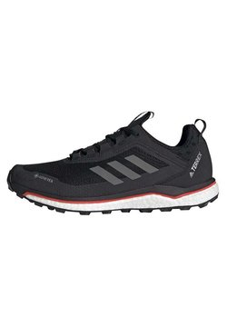 adidas Performance - TERREX AGRAVIC FLOW GORE-TEX TRAIL RUNNING SHOES - Laufschuh Trail - black