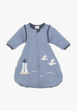 Jacky Baby - MIT ABNEHMBAREN ÄRMELN - Sovpåse - blau
