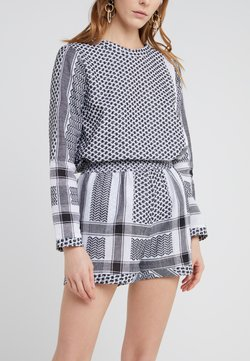 CECILIE copenhagen - Shorts - black/white
